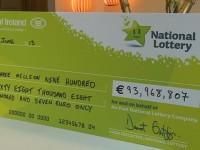 Ирландец сорвал рекордный джек-пот лотереи ЕвроМиллионы