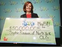 Канадская уборщица выиграла 50 миллионов в Лото Макс