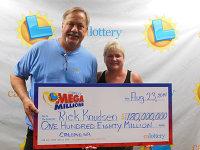 Рабочий сорвал джек-пот лотереи Мега Миллионы